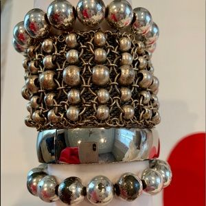 Jewelry - Curated bracelets-SILVER